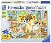 Pets on Tour Puzzle, 500 Pieces