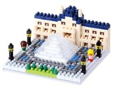 Nanoblock Sights To See, Musee De Louvre