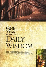 The One-Year Book of Daily Wisdom