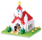 Nanoblock Sights To See, Church