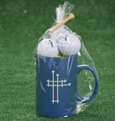 Blueprints for Life Mug & Golf Balls Gift Set