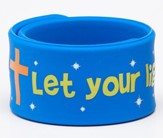 Let Your Light Shine Silicone Slap Bracelet