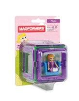 Magformers Figure Plus, Princess, 6 Piece Set