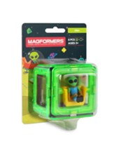 Magformers Figure Plus, Alien, 6 Piece Set