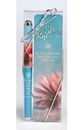 Be Still and Know Pen & Bookmark Gift Set