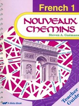 Abeka Nouveaux Chemins French Year 1 Teacher Guide