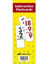 Abeka Subtraction Flashcards