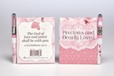 Precious and Dearly Loved Notepad and Pen Set