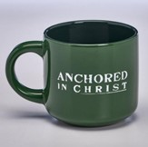 Anchored in Christ Mug