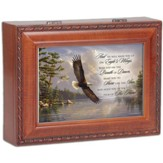 Wood Grain Music Box, On Eagles Wings
