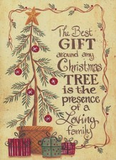 The Best Gift (Psalm 128:5, NIV), 20 Count Boxed Christmas Cards