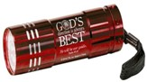 God's Direction is Always Best LED Flashlight, Red