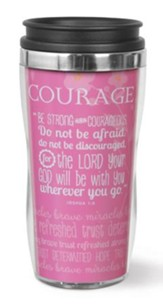 Courage Tumbler, Joshua 1:9