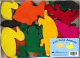 Abeka Felt Pond Animals (K4-2; 72 pieces)