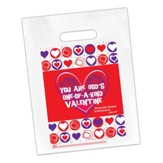 You Are God's One-of-a-Kind Valentine Goodie Bag, Pack of 12