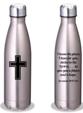 I Know the Plans Stainless Steel Water Bottle