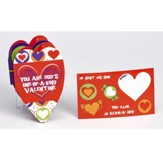 You Are God's One-of-a-Kind Heart Shaped Fold-Out Activity Booklet