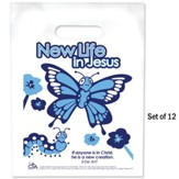 New Life in Jesus Goodie Bags, Pack of 12