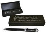 I Know the Plans I Have For You Executive Design Pen Set