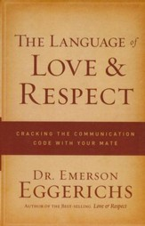 The Language of Love & Respect: Cracking the Communication Code with Your Mate, Large Print - Slightly Imperfect