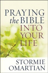 Praying the Bible into Your Life, Large Print - Slightly Imperfect