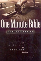 One Minute Bible for Starters - eBook