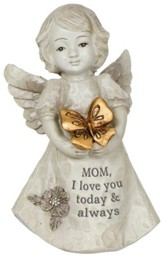 Mom, I Love You Today & Always Mini Angel