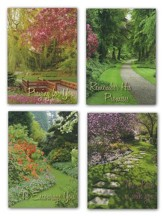 Garden Pathways Encouragement Cards, Box of 12