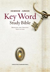 CSB Hebrew-Greek Key Word Study Bible, hardcover