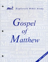 Matthew, Book 1 (Lessons 1-10)