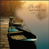 Be Still and Know, Boats Wall Art