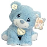 Precious Moments, Charlie Bear Plush, Blue, Small
