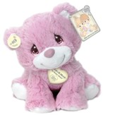 Precious Moments, Charlie Bear Plush, Pink, Small