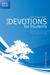 The One Year Alive Devotions for Students - eBook