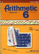 Arithmetic 6 Teacher's Edition