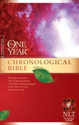 The One Year Chronological Bible NLT - eBook