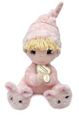 Precious Moments: Peluche de Niña Orando, Rosado  (Prayer Plush Girl, Pink)