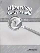 Observing God's World Tests