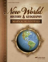 Abeka New World History & Geography Maps & Activities
