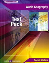 Power Basics World Geography Tests