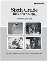 Abeka Grade 6 Bible Curriculum (Lesson Plans)