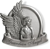 Peaceful, Guardian Angel Visor Clip