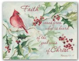 May Joy Be Your Gift, Cardinals and Berries Christmas Cards, Box of 18