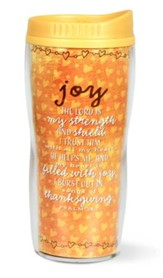 Joy, Travel Tumbler