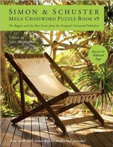 Simon & Schuster Mega Crossword Puzzle Book #9