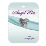 Protected By Angels Lapel Pin