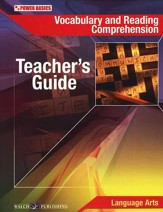 Power Basics Vocabulary & Reading Comprehension Teacher's Guide