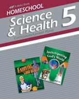 Homeschool Science & Health 5 Curriculum/Lesson Plans