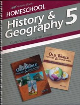 Abeka Homeschool History & Geography  5 Curriculum/Lesson  Plans