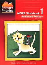 More Primary Phonics Workbook 1:  Additional Practice  (Homeschool Edition)